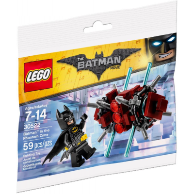 LEGO BATMAN MOVIE Batman et Phantom Zone Sac 2017