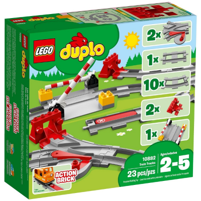 LEGO DUPLO Les rails du train 2018