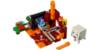 LEGO MINECRAFT Le portail du Nether 2018