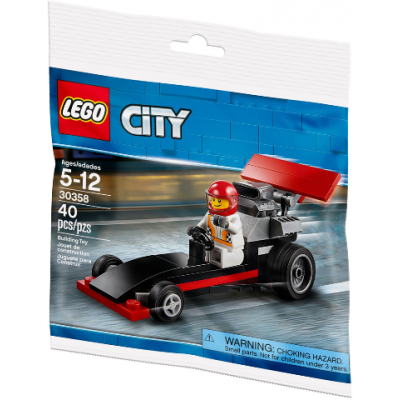 LEGO CITY Le Dragster sac 2018