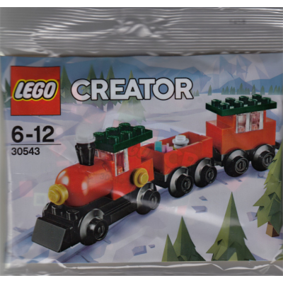 LEGO CREATEUR  Train de Noel sac 2018