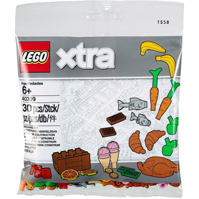 LEGO Xtra Food Accessories polybag 2018