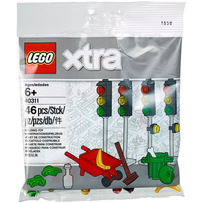 LEGO Xtra Feux de circulation 2018
