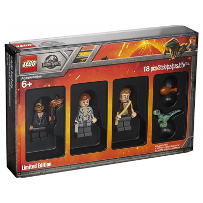 LEGO JUNIOR JURASSIC WORLD Minifigure Collection, Bricktober 2018