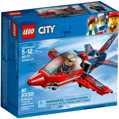 LEGO CITY L'avion du spectacle aérien 2018