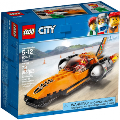 LEGO CITY La voiture de record de vitesse 2018