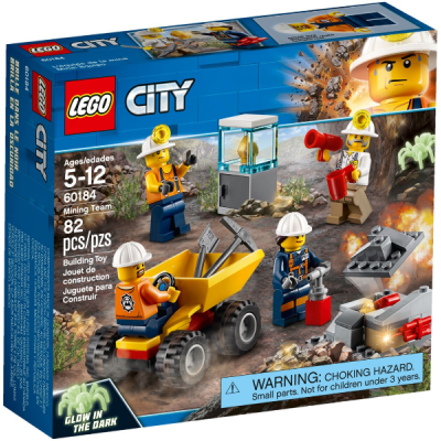 LEGO CITY L'équipe de la mine 2018