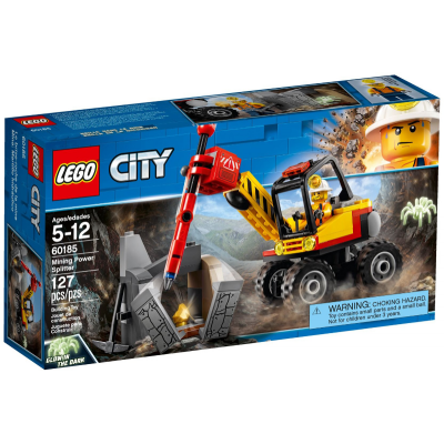 LEGO CITY Le brise-roche de la mine 2018