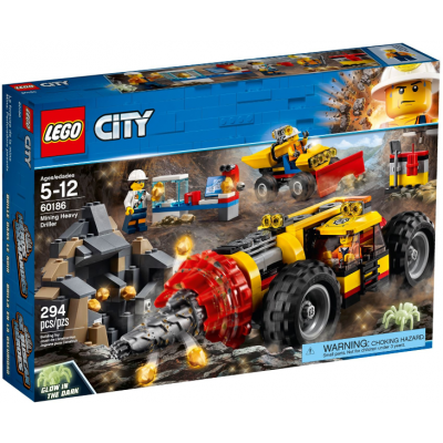LEGO CITY La foreuse de la mine 2018