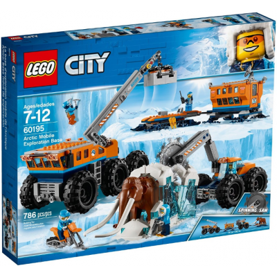 LEGO CITY La base d'exploration mobile de l'Arctique 2018