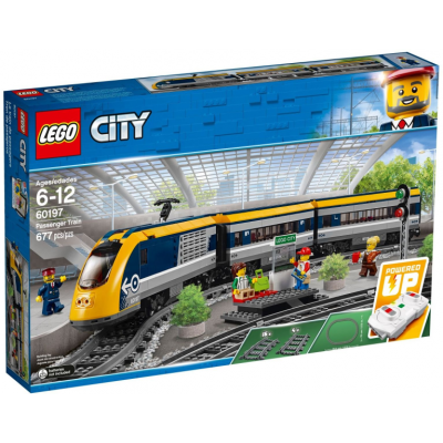 LEGO CITY TRAIN Le train de passagers 2018