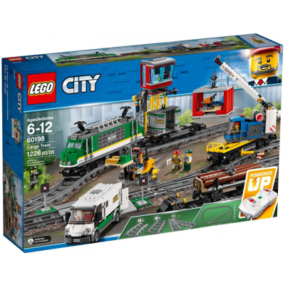 LEGO CITY LE TRAIN DE MARCHANDISES 2018