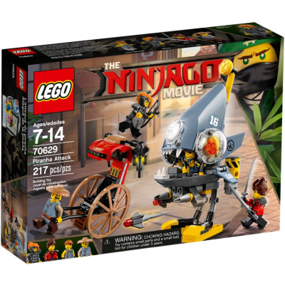 LEGO NINJAGO MOVIE L'attaque du piranha 2018