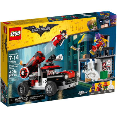 LEGO BATMAN MOVIE L'attaque au canon d'Harley Quinn™ 2018