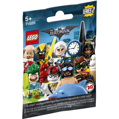 LEGO BATMAN 71020 - MINIFIGS SERIE 2 BATMAN MOVIE - 1 sac 2018
