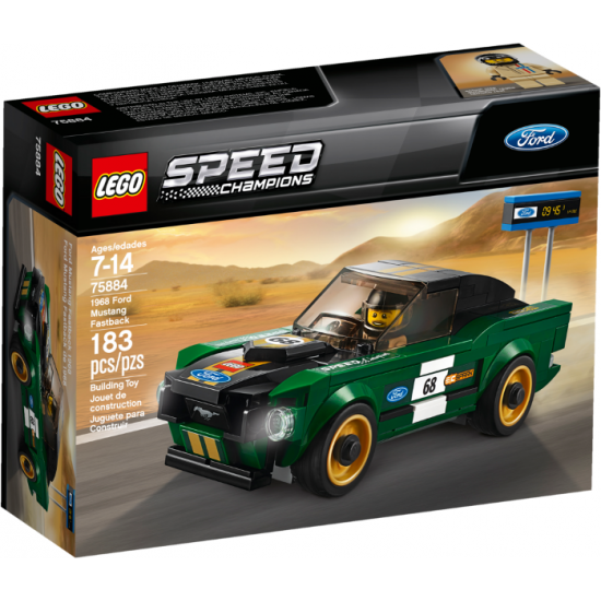 LEGO Speed champions Ford Mustang Fastback 1968  2018