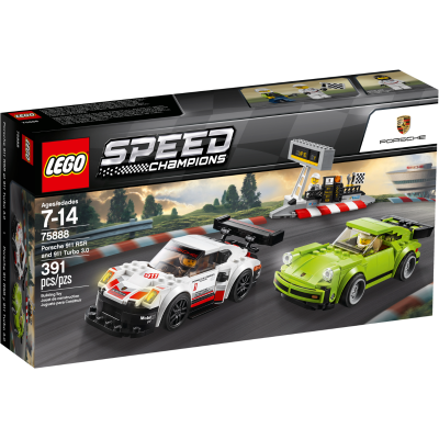 LEGO Speed champions Porsche 911 RSR et 911 Turbo 3.0 2018