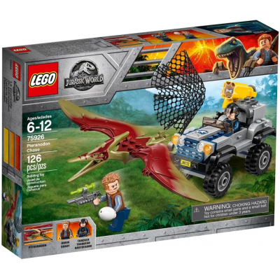 LEGO JURASSIC WORLD La poursuite du ptéranodon 2018