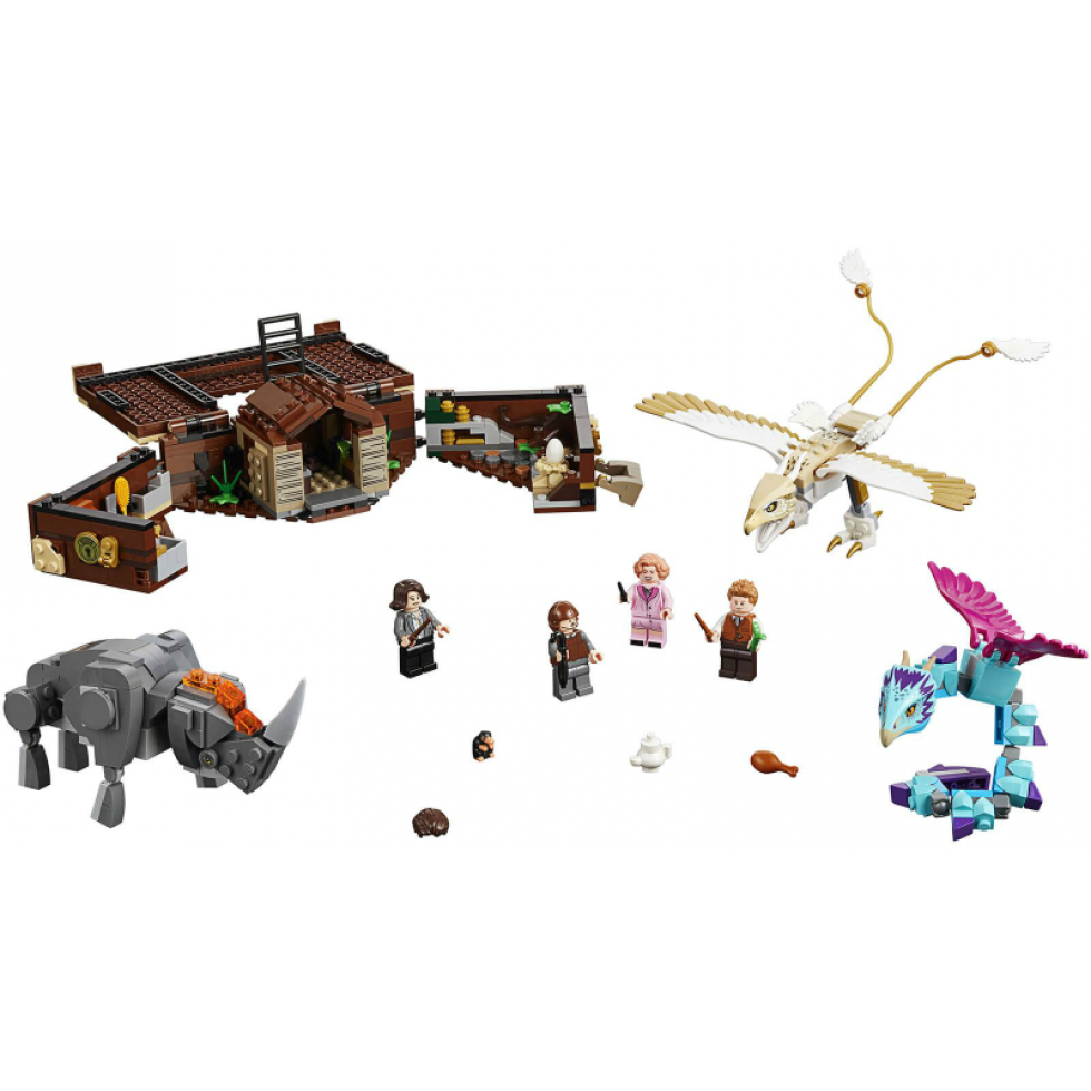 Lego Harry Potter Newt S Case Of Magical Creatures 2018