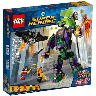 LEGO SUPER HEROES L'attaque du robot de Lex Luthor™ 2018