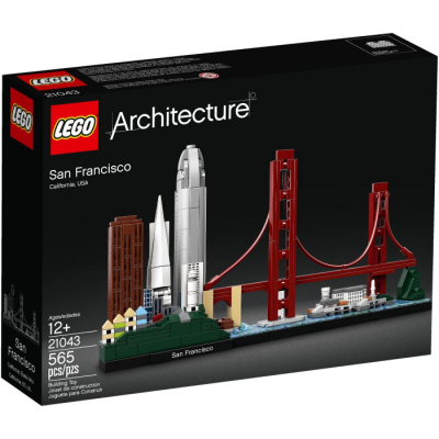 LEGO ARCHITECTURE San Francisco 2019