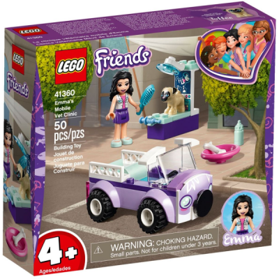 LEGO FRIENDS La clinique vétérinaire mobile d'Emma 2019