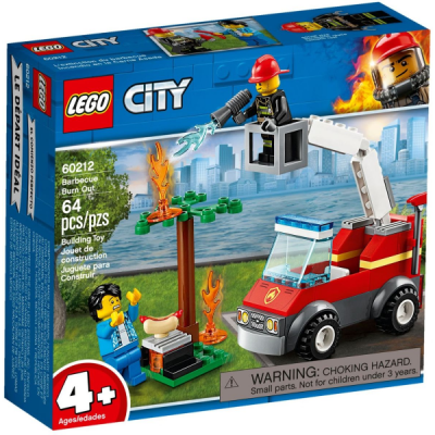 LEGO CITY L'extinction du barbecue 2019