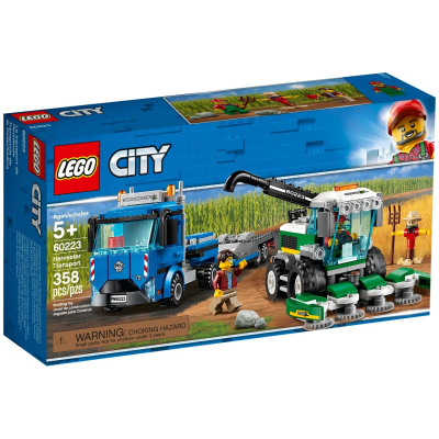 LEGO CITY Le transport de l'ensileuse 2019