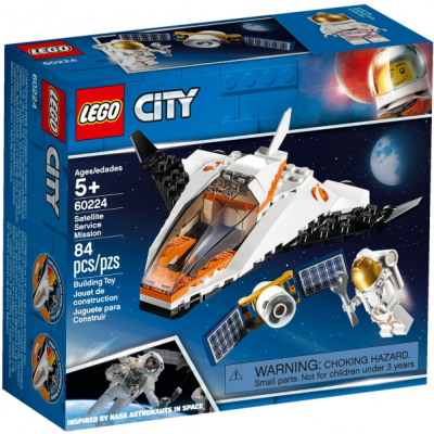 LEGO CITY La mission d'entretien du satellite 2019