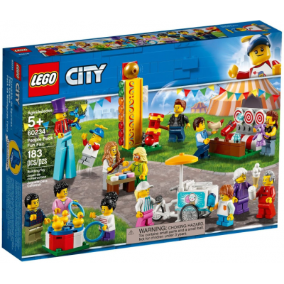 LEGO CITY Ensemble de figurines - Fête foraine 2019