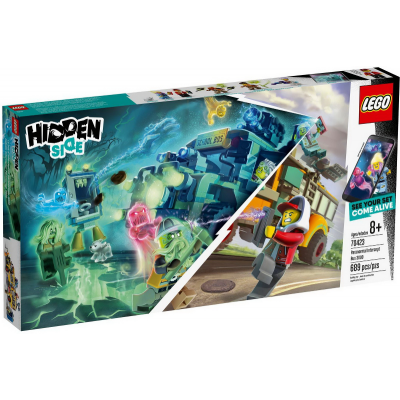 LEGO HIDDEN SIDE Le bus d'interception paranormale 3000 2019