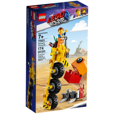 LEGO MOVIE 2 Le Tricycle d'Emmet ! 2019