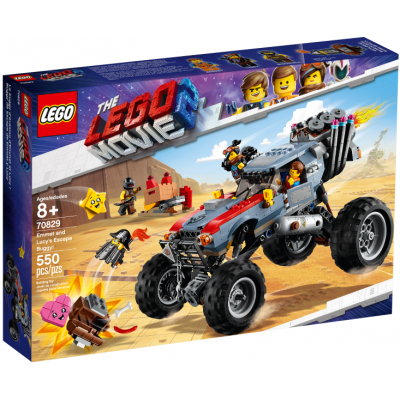 LEGO MOVIE 2 Le buggy d'évasion d'Emmet et Lucy ! 2019