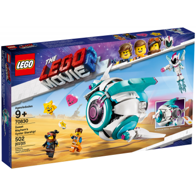 LEGO MOVIE 2 Le vaisseau Systar de Sweet Mayhem ! 2019
