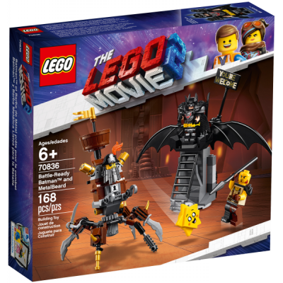 LEGO MOVIE 2 Batman™ en armure de combat et Barbe d'Acier 2019