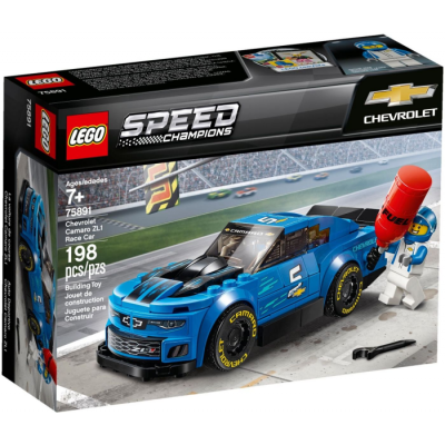 LEGO Speed champions La voiture de course Chevrolet Camaro ZL1  2019