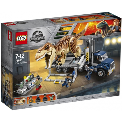 LEGO JURASSIC WORLD Le transport du tyrannosaure 2018