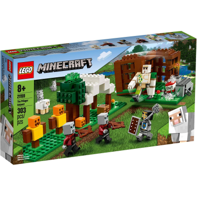 Lego Minecraft 21159-des pilleurs de l/'Avant-poste-Fer Golem chevalier jeu vidéo