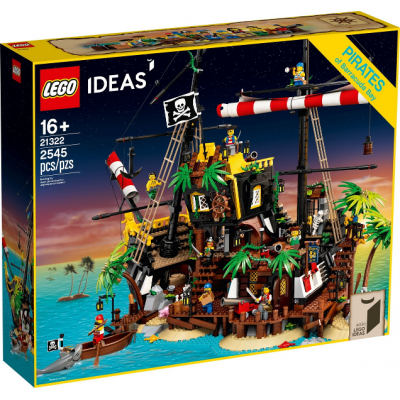 LEGO IDEAS Ideas Les pirates de la baie de Barracuda 2020