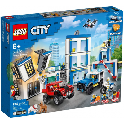 LEGO CITY Le commissariat de police 2020