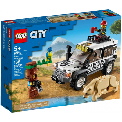 LEGO CITY Le 4x4 Safari 2020