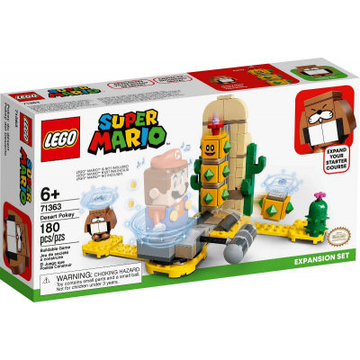 LEGO Super Mario™ Ensemble d'extension Pokey du désert 2020