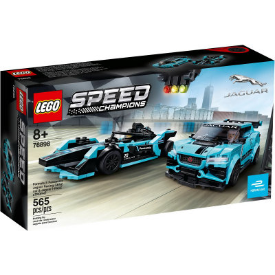 LEGO Speed champions Formula E Panasonic Jaguar Racing GEN2 car & Jaguar I-PACE eTROPHY 2020