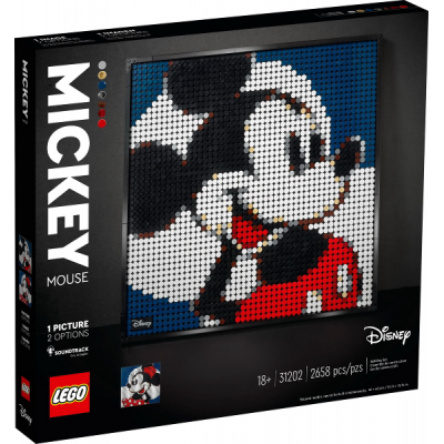 LEGO Art Disney's Mickey Mouse 2021