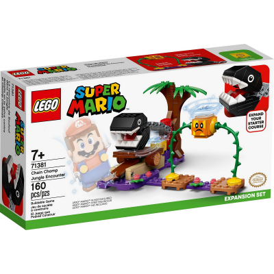 LEGO Super Mario™ Ensemble d'extension La rencontre de Chomp dans la jungle 2021
