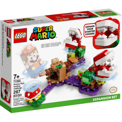 LEGO Super Mario™ Ensemble d'extension Le défi de la Plante Piranha 2021