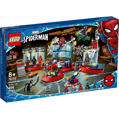 LEGO SUPER HEROES L'attaque contre le repaire de Spider 2021