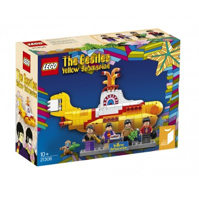 Lego Ideas THE BEATLES SOUS MARIN JAUNE 2016