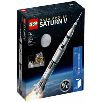 LEGO IDEAS Nasa Apollo Saturn V 2017