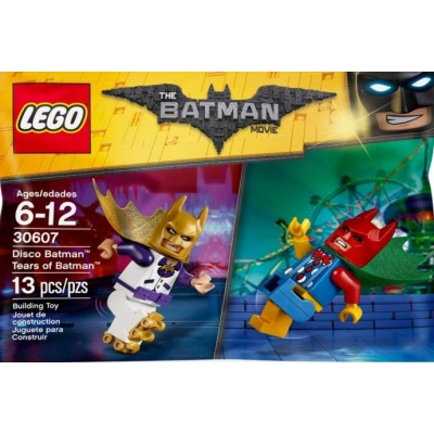 LEGO BATMAN MOVIE Batman en tenue disco et Batman en tenue de clown 2017